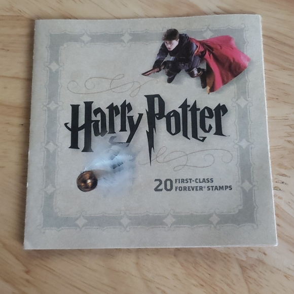 Harry Potter Collectible Stamp Booklet 2013 usps